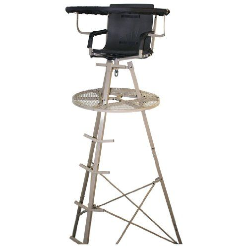 Amazon Com Direct Outdoor Products Premium Tripod Stand 15 Feet Hunting Tree Stands Sports Outdoors Outdoor Tree Stand Deer Blind