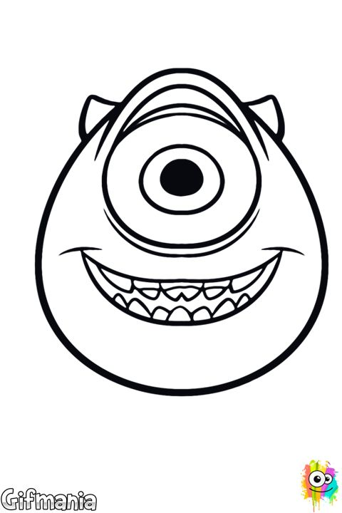 Snap Monsters inc, Mike d antoni and Coloring pages on Pinterest ...