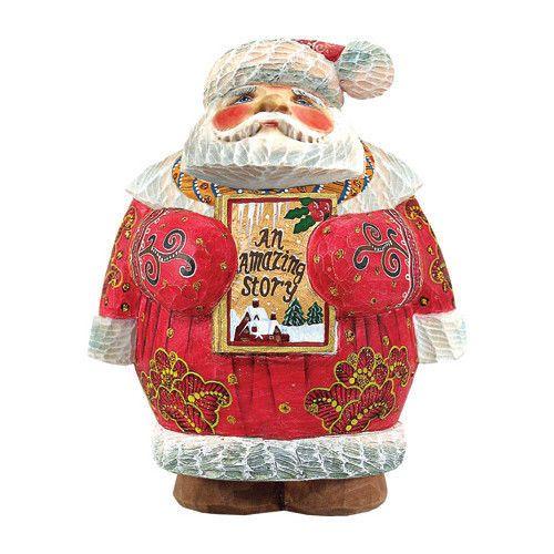 G Debrekht Derevo Storytime Santa #GDebrekht
