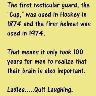 Testicular Guard   Funny Joke Pictures
