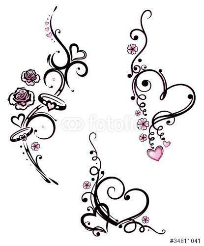 Tattoovorlagen Herzen Mit Namen Flugeln Schlusseln Bilder 1