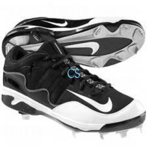NWT-Mens Nike Air Swingman Remix 2 Black Baseball Low Metal Cleats Shoes-sz  12 | Metal cleats, Cleats shoes and Cleats
