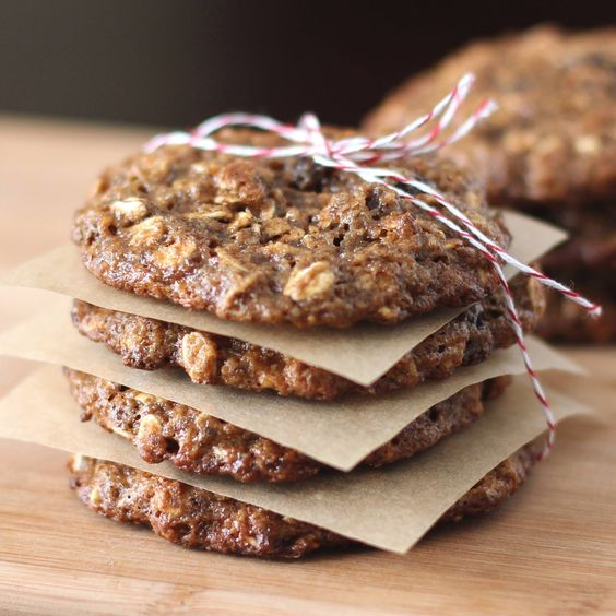 Healthy oat raisin cookie recipe