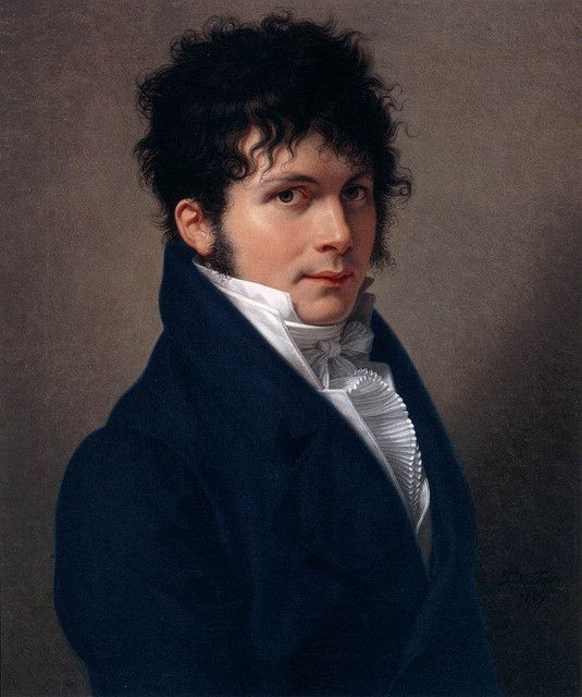 Fabre, Francois (1766-1837) - 1809 Portrait of a French Man (National Gallery of Scotland, Edinburgh)