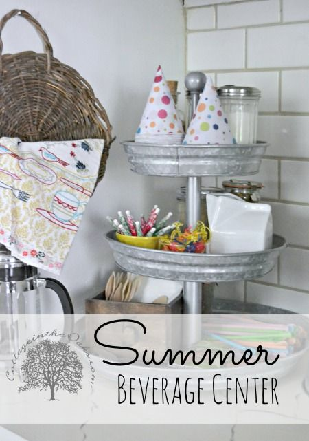 Summer Beverage Center - Cottage in the Oaks