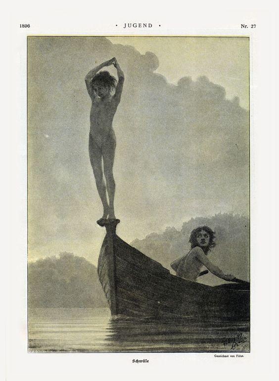 Fidus,Schwüle,in Jugend,1896