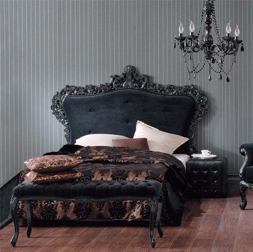 =): Gothic Interior, 3/4 Beds, Bed Frame, Master Bedroom
