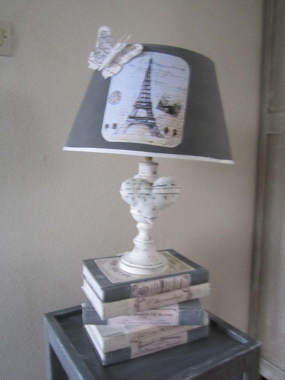 Lampe livre 2 lampe de table cpt passion d 39 antan - Table et passion ...