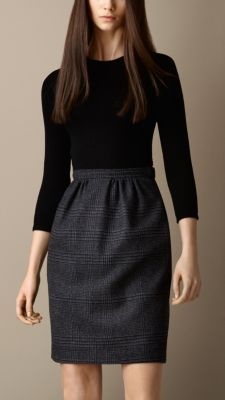 Could sew together a basic tee and an elastic skirt