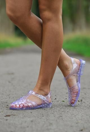Silver+Glitter+Jelly+Sandals.... SERIOUSLY! I AM SO EXCITED!!!! IM BUYING THESE!