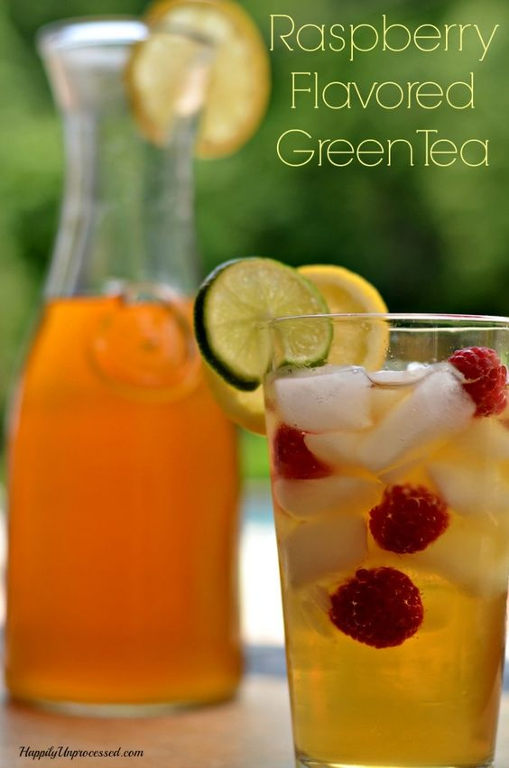 Raspberry Flavored Green Tea