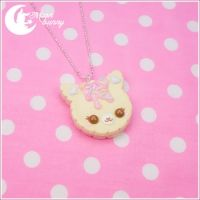 cookie cat necklace