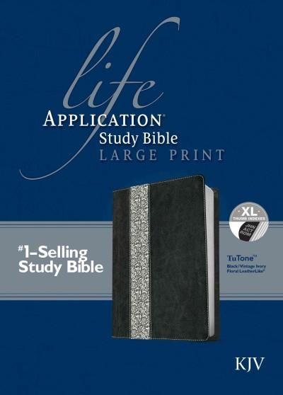 Holy Bible: Life Application Study Bible KJV, Tutone