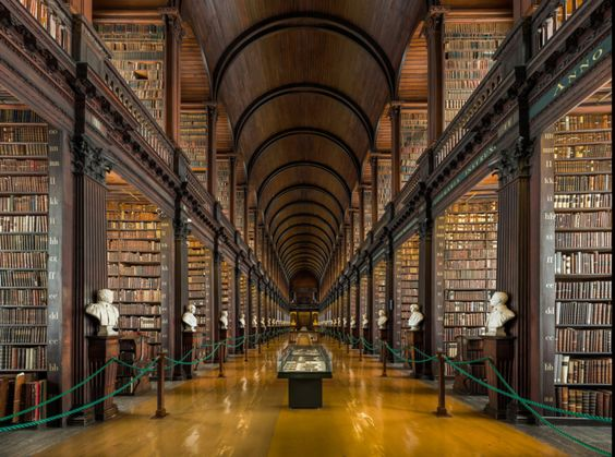 "Ireland: ""Permission Granted for 'Major Conservation and Redevelopment' of Old Library in Trinity College Dublin"" 