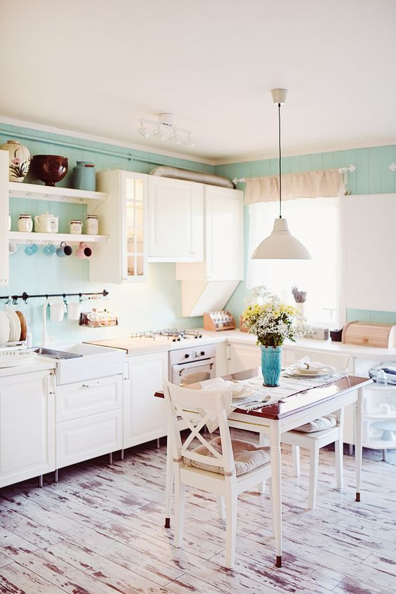 White Homes Mint Green And Issue Magazine On Pinterest
