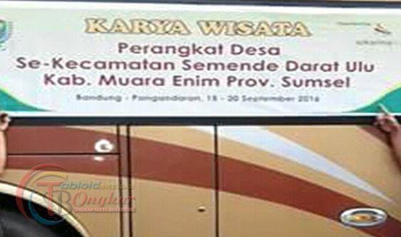10 Kades Kecamatan SDU, Piknik ke Bandung Tanpa Pamit Bupati