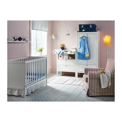 Ikea Sundvik Crib The Bed Base Can Be Placed At Two Different