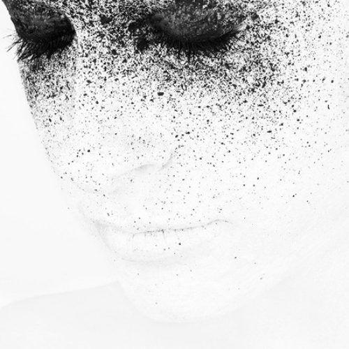 ink splatter eyes