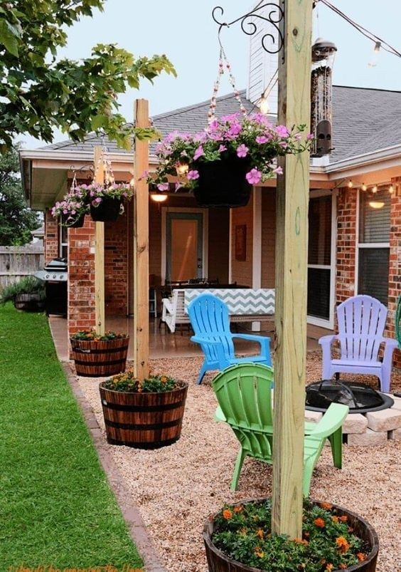 21 Beautiful And Awesome Front Yard Landscaping Ideas On A Budget 06 Maanitech Com Frontyard Frontyardlandscap Backyard Diy Projects Diy Backyard Diy Patio