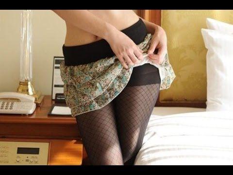フェチ動画 ミニスカートの中のみせるパンツ