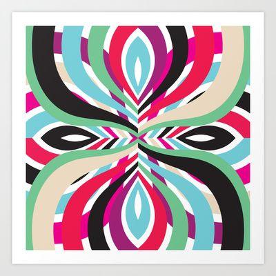 Mix #105 Art Print by Ornaart - $23.00