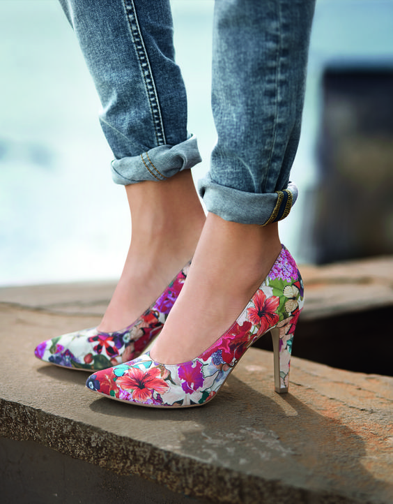 S Oliver Collection 2015 Sapatos Estampados Sapatos Estampas