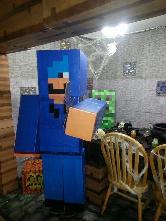 Minecraft Party Costumes