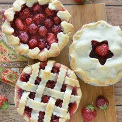 http://www.shesaved.com/2016/08/mini-fresh-strawberry-pies.html/
