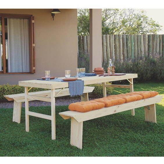 Para você se divertir, descansar e relaxar com muito conforto e praticidade aposte em móveis para o seu jardim.