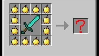 ✔ 101 Crazy Minecraft Crafting Recipes ✔