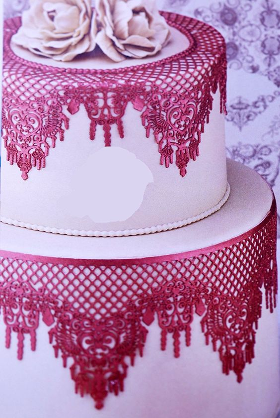 Novelty Giant Lace Silicone Mold Sugarcraft Wedding Cake Decor Tools Impression Gum Pastry Tool Kitchen Tool Sugar Paste Baking Mould Cookie Pastry *** To view further for this item, visit the image link.