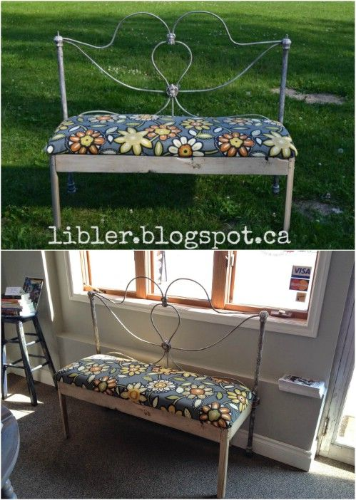 15 Brilliantly Creative Ways To Upcycle An Old Bed Frame With