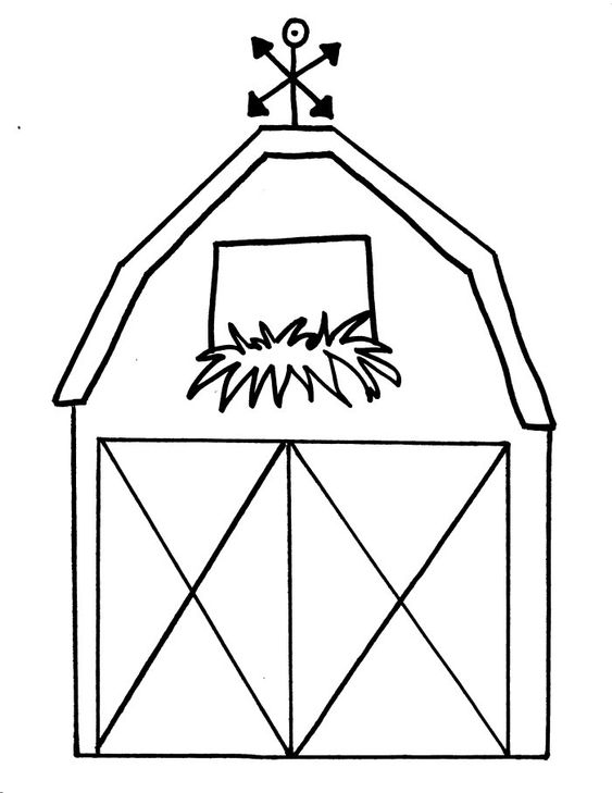 Free Printable Barn Templates | Barn coloring pages This is your index.html page…
