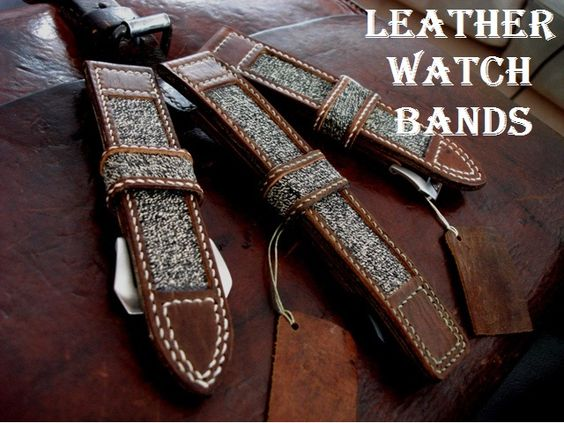 Buy Leather Watch bands  http://www.watchpartsoutlet.com/