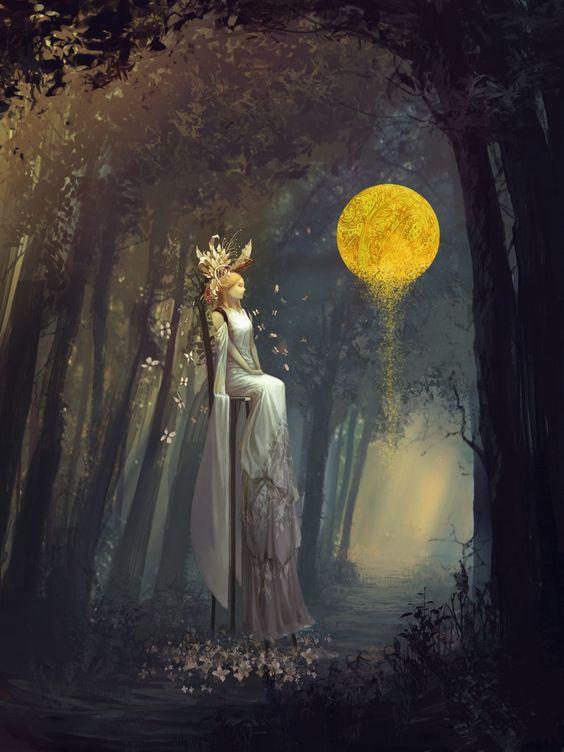 Bride in forest by tahra.deviantart.com on @deviantART: