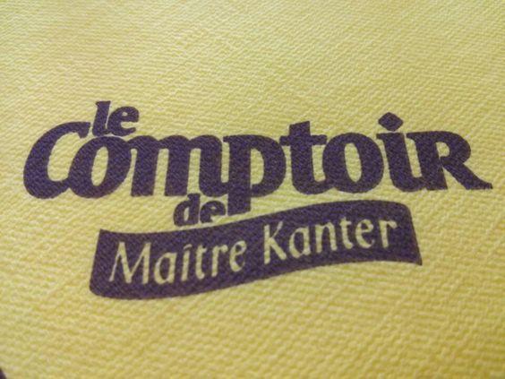 Le comptoir de Maitre Kanter