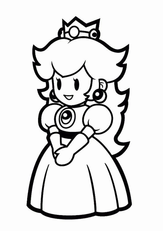 Princess Peach Coloring Page Luxury Princess Peach And Daisy Coloring Pages Mario Coloring Pages Super Mario Coloring Pages Princess Coloring