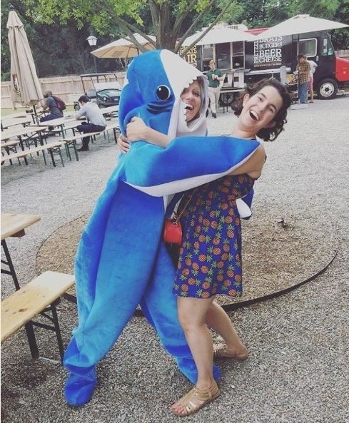 Why is there a woman in a shark costume in Charlotte's dating pool? - CharlotteFive