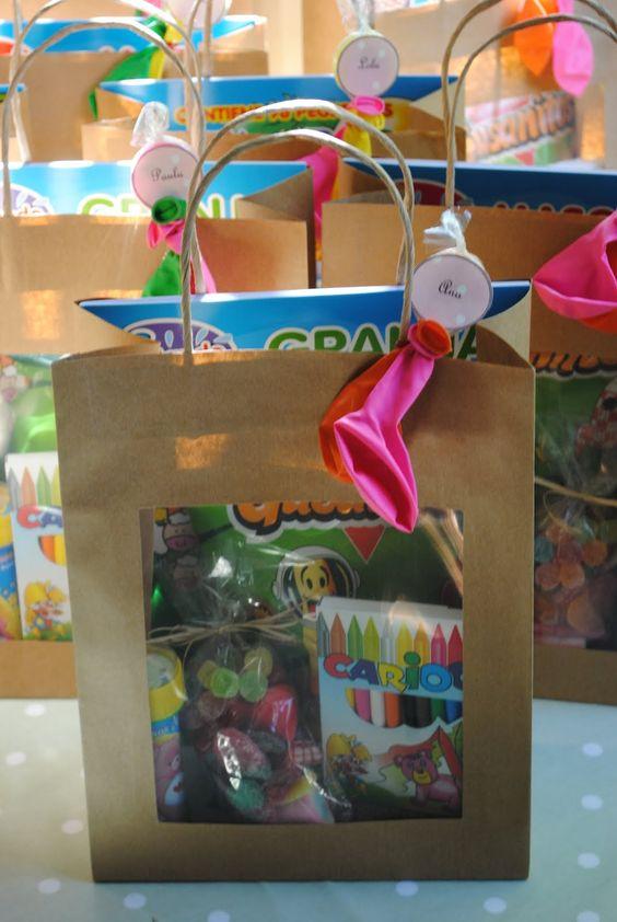 Los detalles de bea 23 bolsas dulces cargadas de - Detalles para ninos ...
