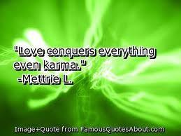 LOVE even Conquers Karma #InspiringIndy