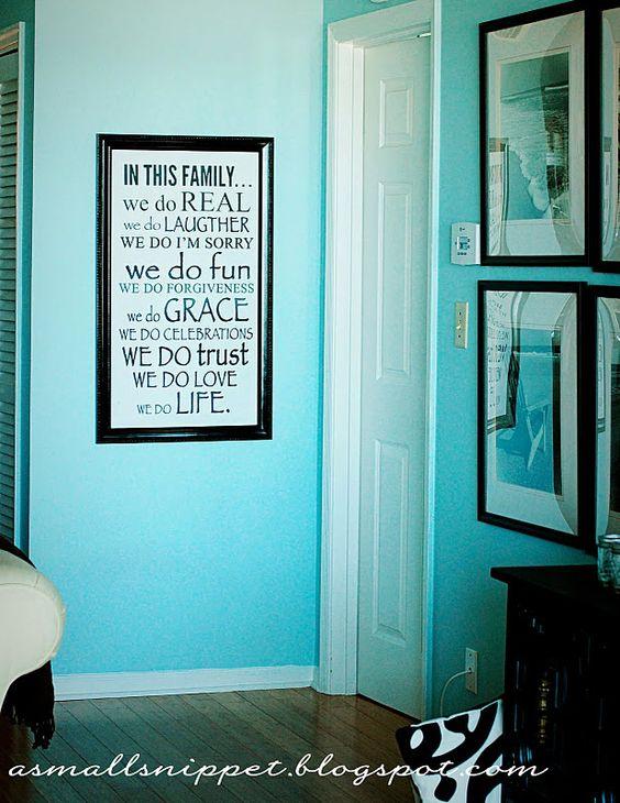 DIY wall quotes/art
