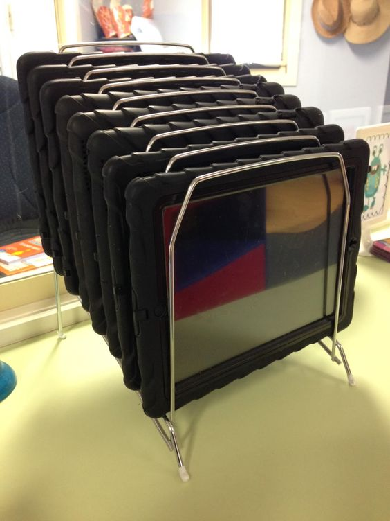 Easy iPad storage. Love, Laughter and Learning in Prep!: