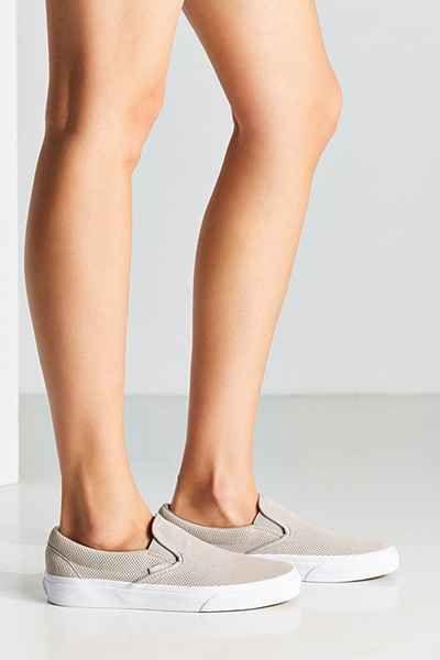 Vans Classic Perforated Suede Slip-On Sneaker