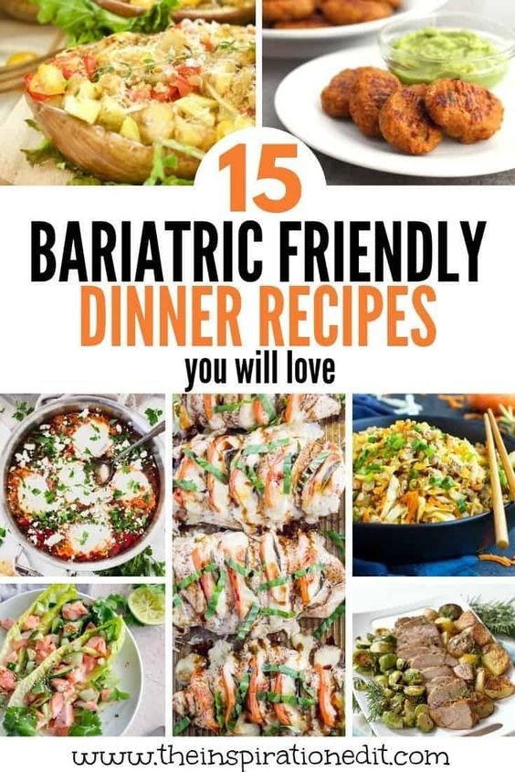 The Best Bariatric Dinner Recipes
