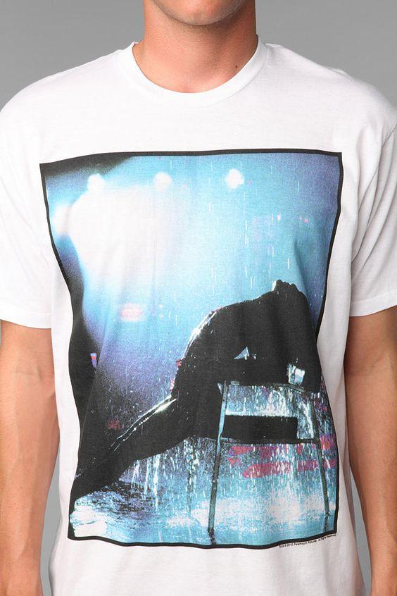 Flashdance Rain Scene Tee  #UrbanOutfitters