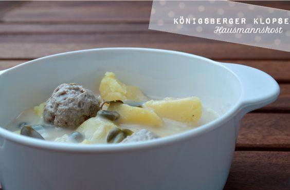 Chèvre culinaire: Deutsche Hausmannskost - Königsberger Klopse