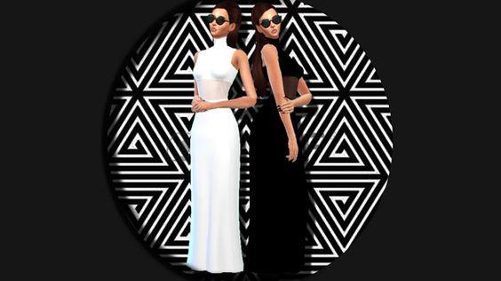 Sims 4 CC's - The Best: Turtleneck Dress by Enrique