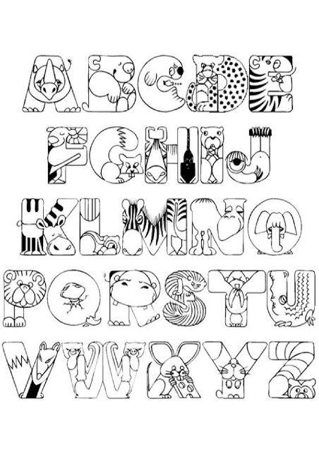 Abc Letras Do Alfabeto Para Imprimir 60 Moldes Do Alfabeto