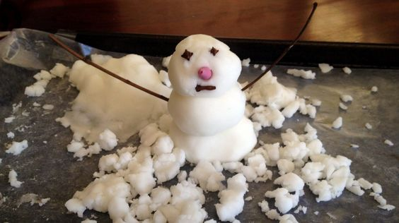 how to make snow: