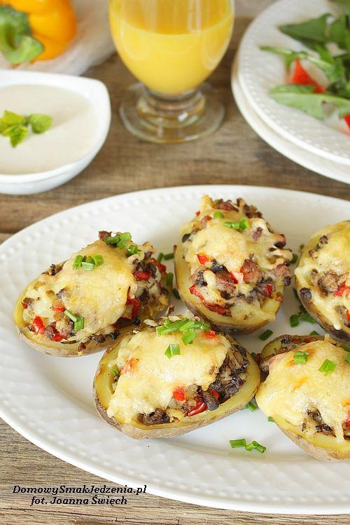 Ziemniaki Faszerowane Z Piekarnika Domowy Smak Jedzenia Pl Culinary Recipes Recipes Cooking